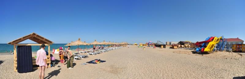 Пляжи Западного Крыма